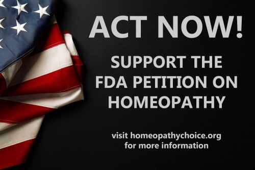 FDA Homeopathy petition